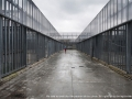 Rome, Italy - March 28, 2013 - Immigrant walks inside the detention center of Ponte Galeria, recently, there have been riots in the identification center in protest against low living conditions.Ph.Giulio Piscitelli